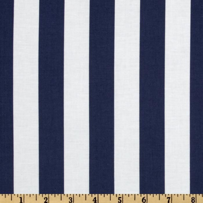 Its A Shore Thing Cabana Stripe Navy Item Number Fp 358 Our Price 8 98 Per Yard With Images Beach Fabric Nursery Fabric Pattern Wallpaper