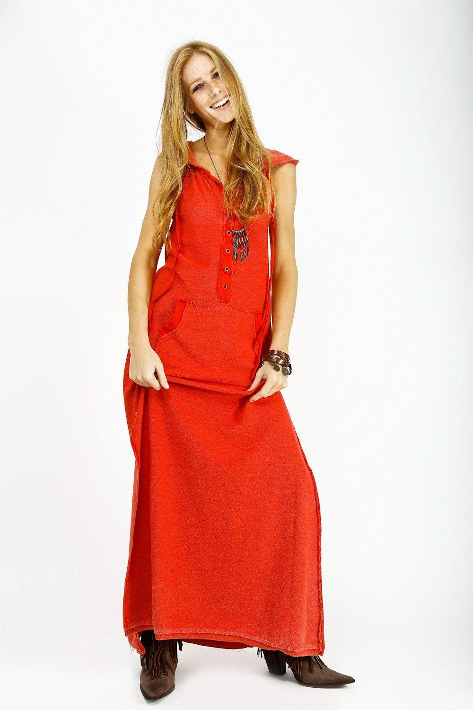 Vestido Estonado com Capuz - Bazar