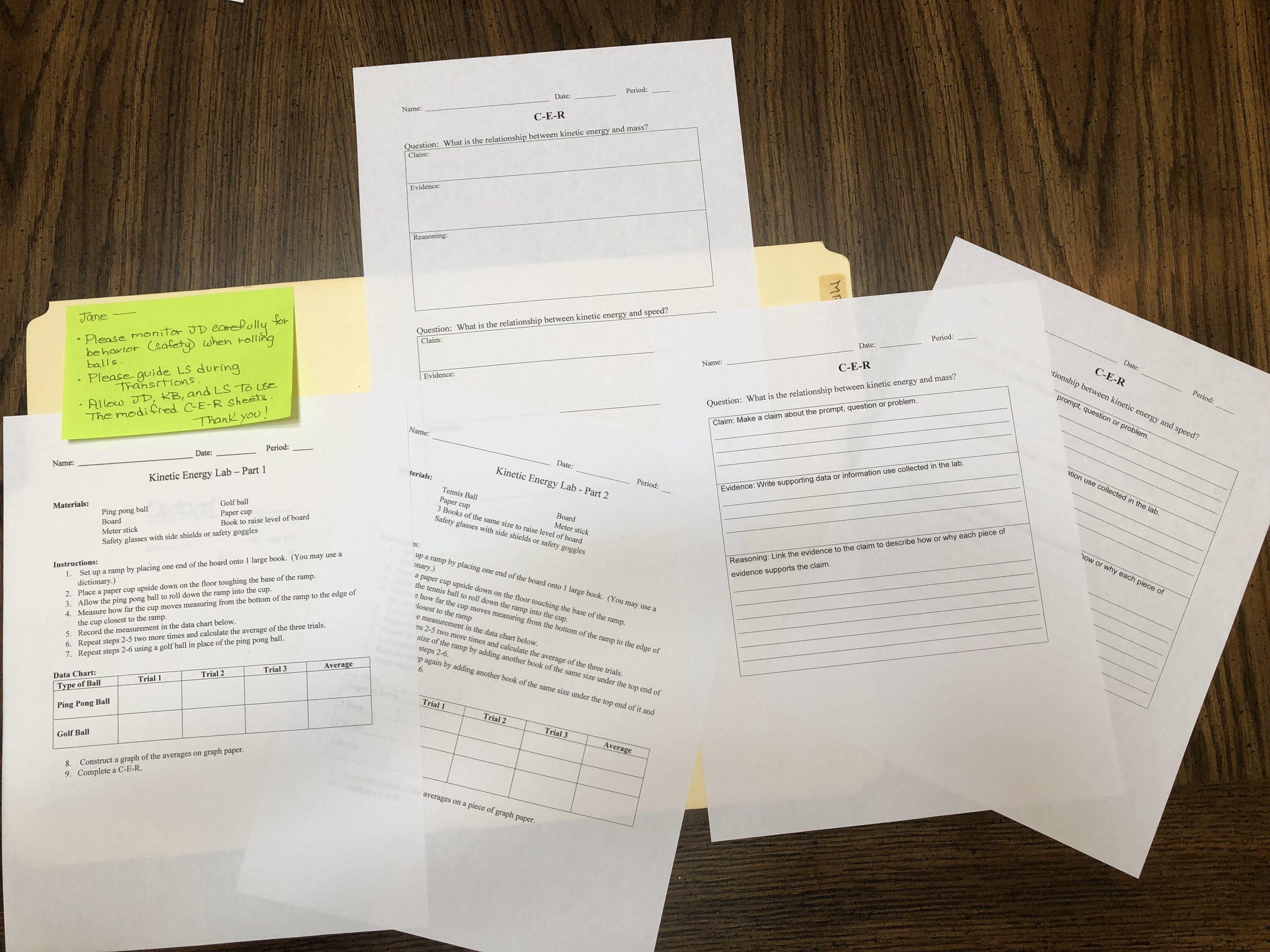 9th Grade Biology Worksheets