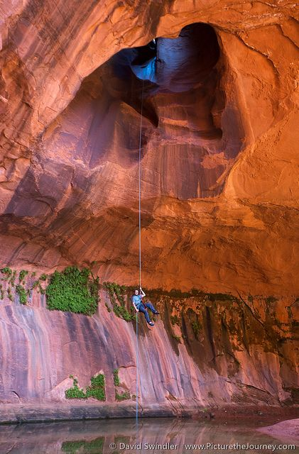 Golden Cathedral Utah : golden, cathedral, Golden, Cathedral, Places, Travel,, Rappelling