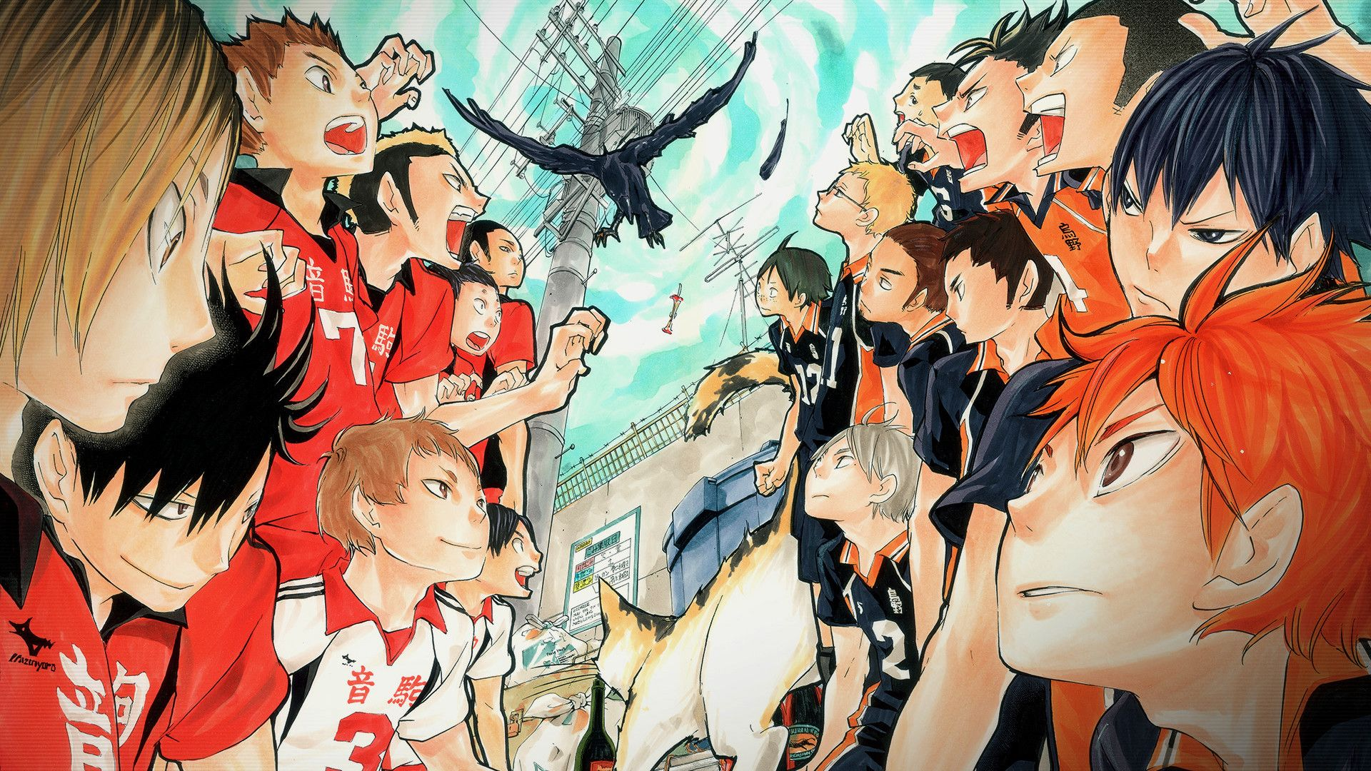 1920x1080 1920x1080 Nekoma Wallpaper Google Search Haikyuu Haikyuu Wallpaper Haikyuu Anime Anime Wallpaper