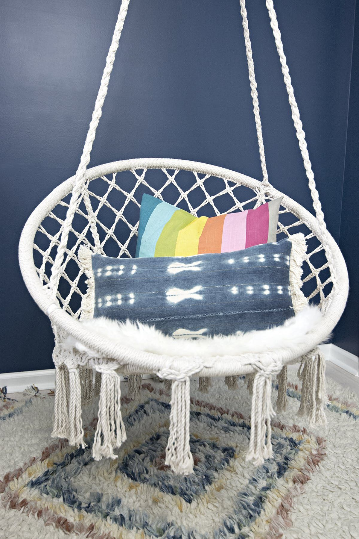 Chair For Girls Bedroom Our New Hanging Macrame Hammock Chair Macrame Hanging Chair Macrame Hammock Chair Hammock Chair