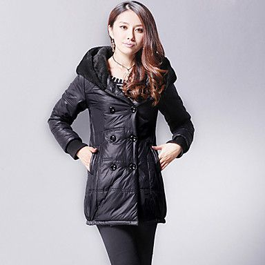 Women's Thick Slim Cotton Coat