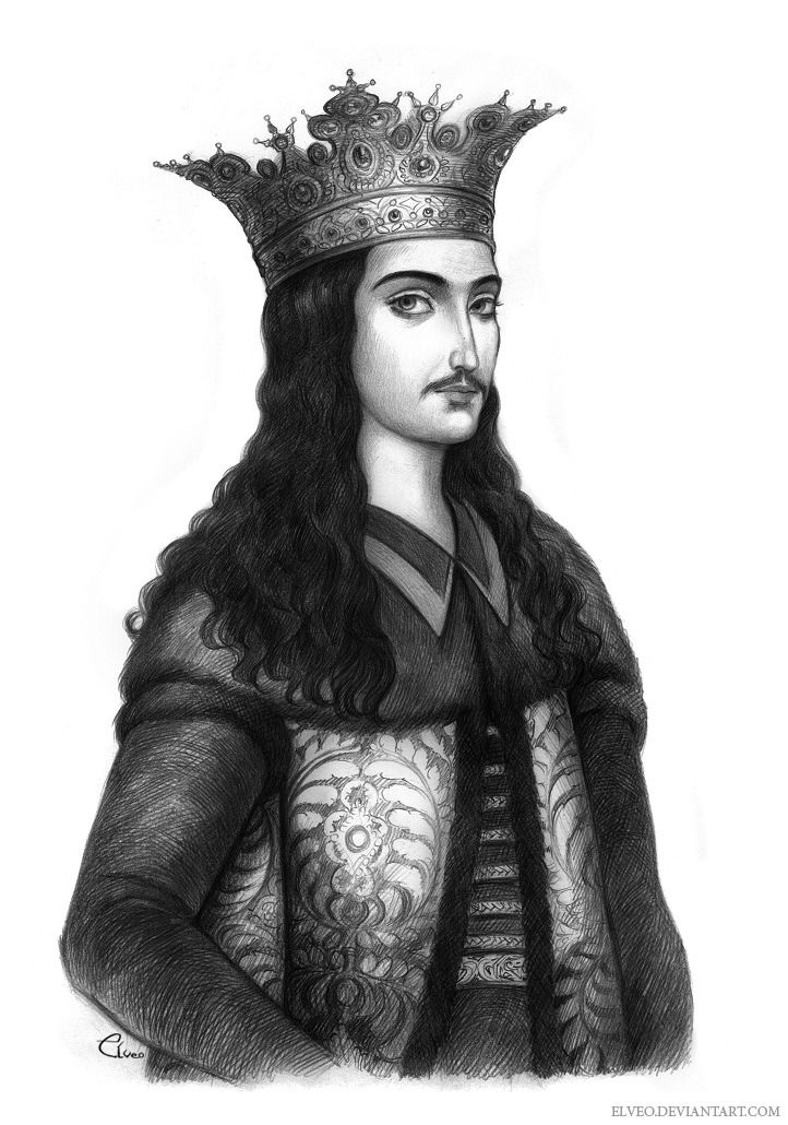 "IW РАДȢЛЬ ВОЕВОДА ГNЬ ЗЕМЛИ ȢГРОВАЛАХЇИ | ""I am Radul the voivode and ruler  of the land of Wallachia"" Radu cel Frum… | Medieval drawings, Buddha  statue, Anime guys"