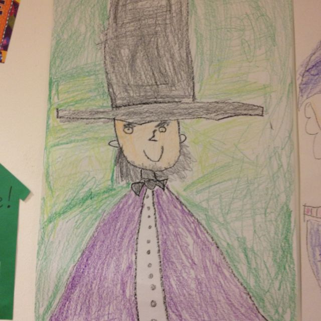 A Directed Drawing Of Abraham Lincoln One Of My Favorite