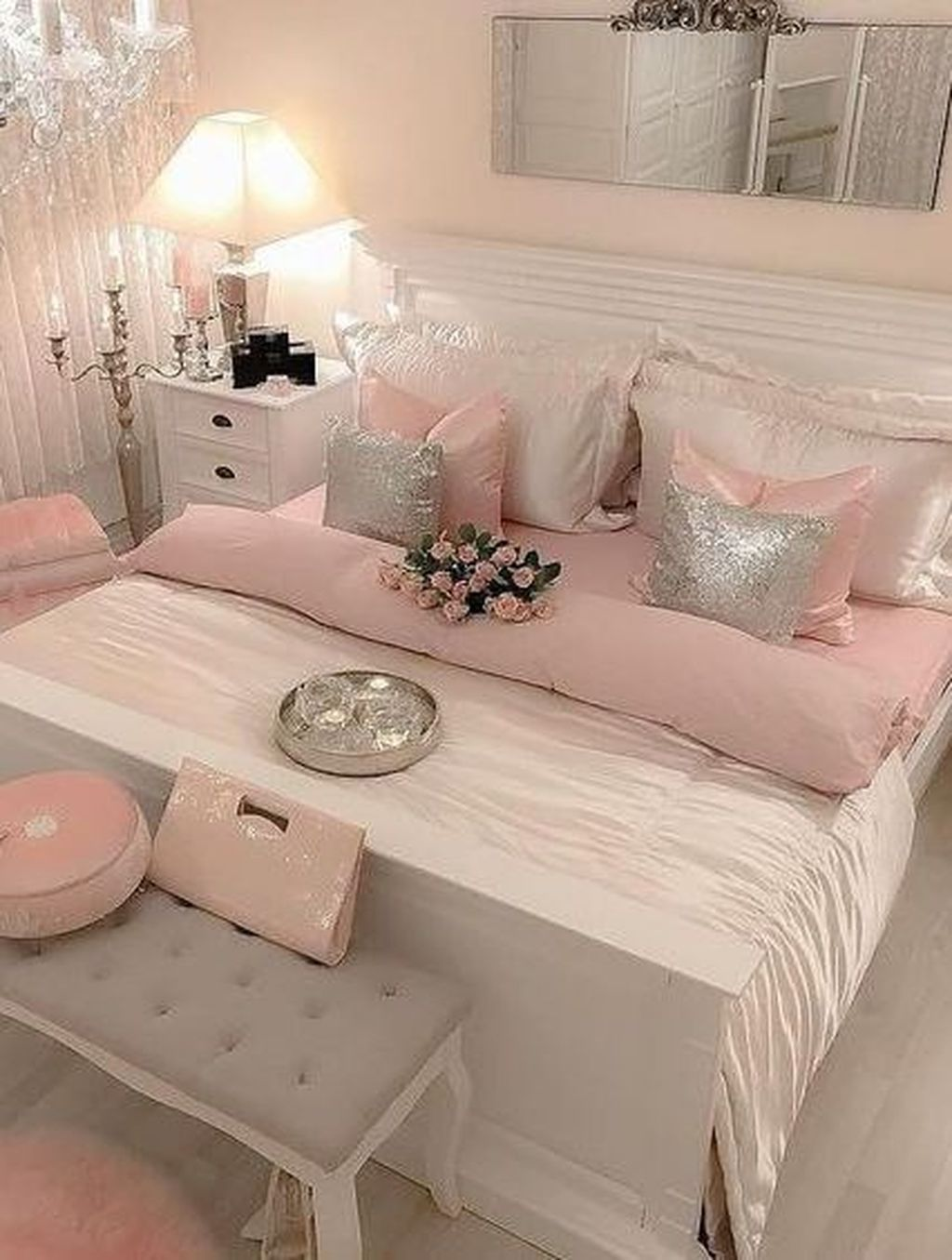 32 The Best Diy Bedroom Decor Ideas You Have To Try Pimphomee Girl Bedroom Decor Pink Bedroom Decor Bedroom Decor