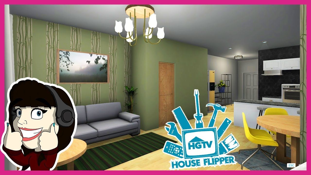 This Wallpaper Is Awful House Flipper Hgtv House Flippers Hgtv Wallpaper Living room house flipper
