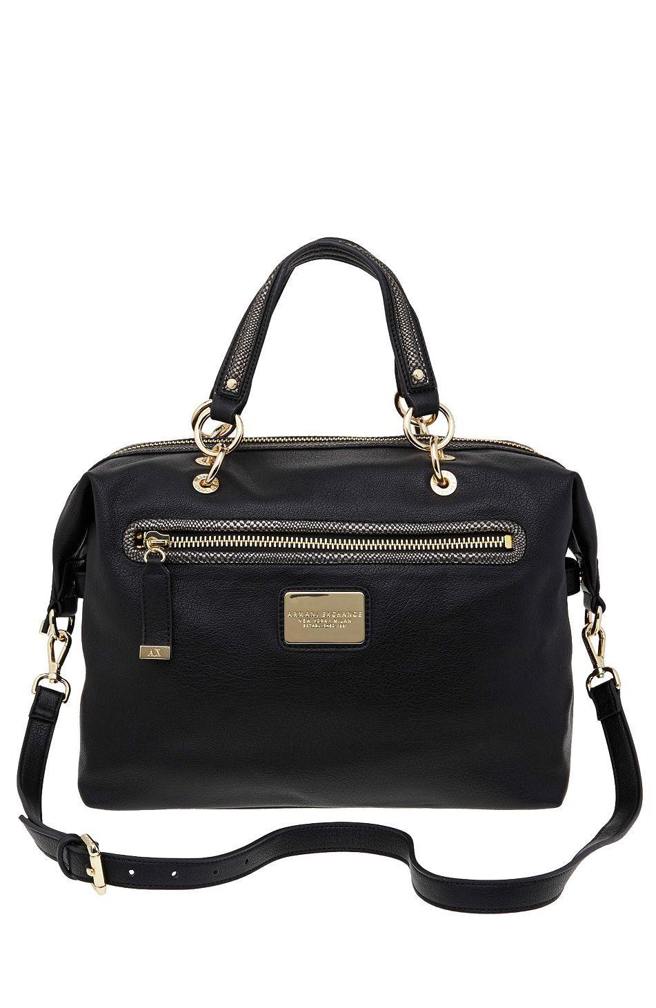 0c16cd30776 Slouchy Crossbody Satchel - Handbags - Accessories - Armani Exchange ·  Handbag AccessoriesClothing ...