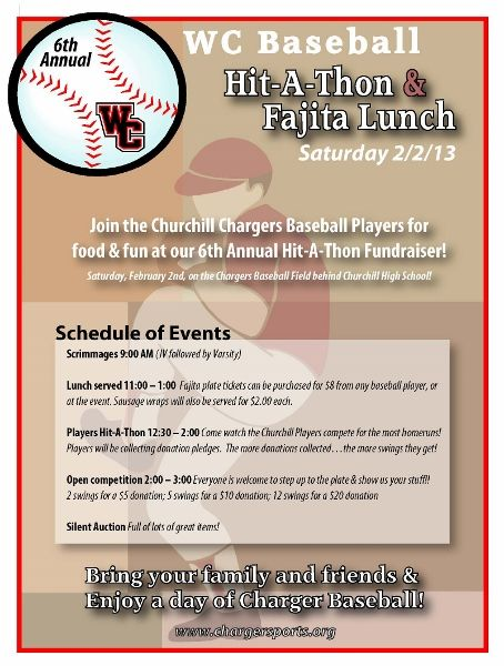 Hit-A-Thon And Silent Auction Flyer | Coaching Aids, Fastpitch