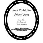 Differentiated Verbs Tiered Lesson Preassessment and Post