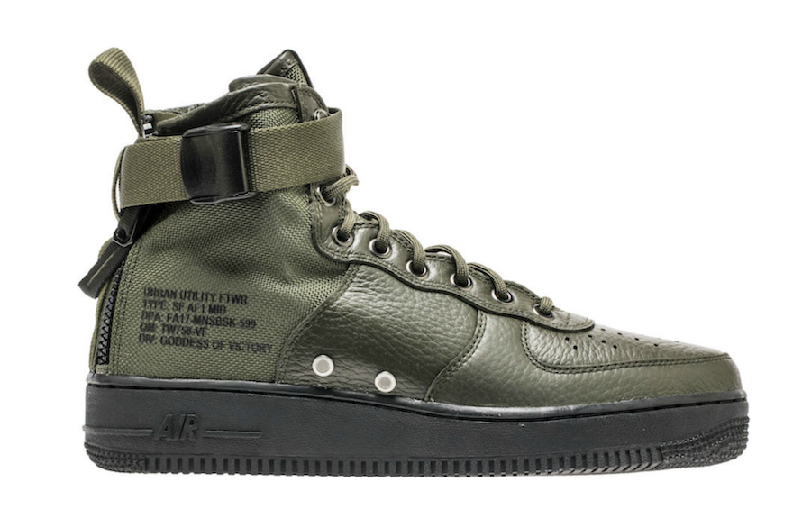 Nike SF-AF1 Mid Sequoia 917753-300 - Sneaker Bar Detroit | Sneakers |  Pinterest | Sneaker bar, Nike store and Store online