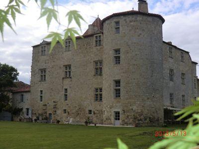 Vente château renaissance chambres d\u0027hôtes et gîtes en Gers