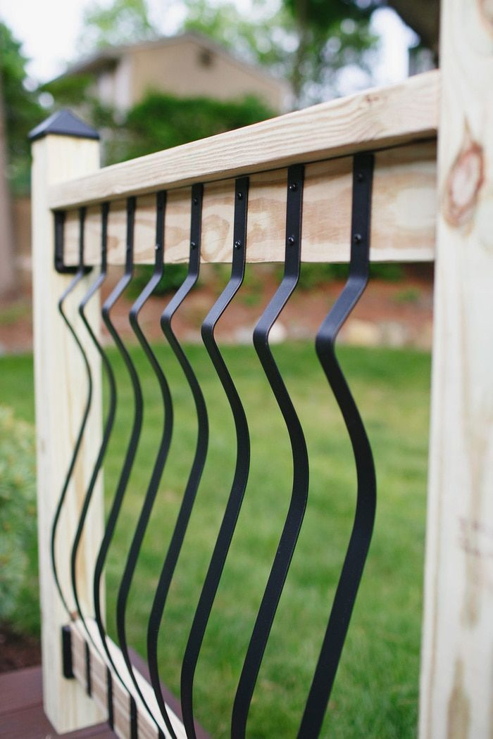 First Rate Deck Railing Ideas Cheap That Will Blow Your Mind Deck Railings Deck With Pergola Deck Balusters