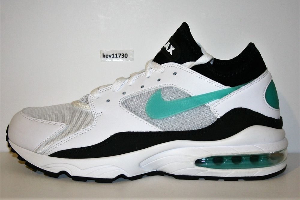 AUTHENTIC NIKE AIR MAX 93 Dusty Cactus White Turquoise
