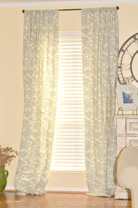 Fabulous Curtains From A Twin Size Sheet Diy Curtains Curtains