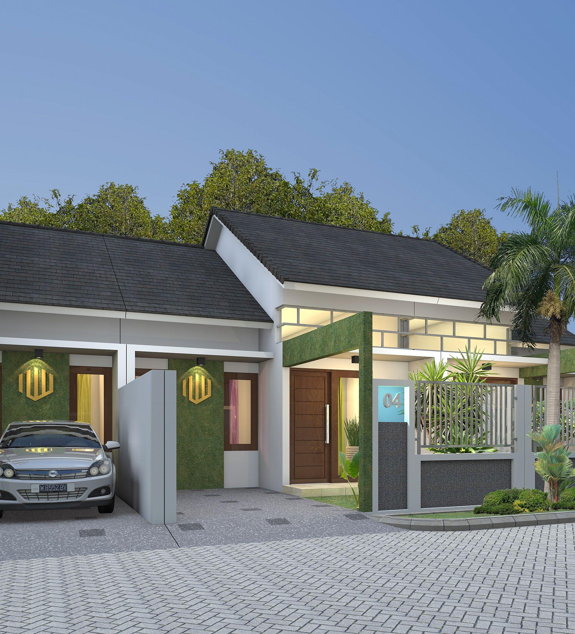 Desain Rumah Minimalis Perumahan Samara Residence Type