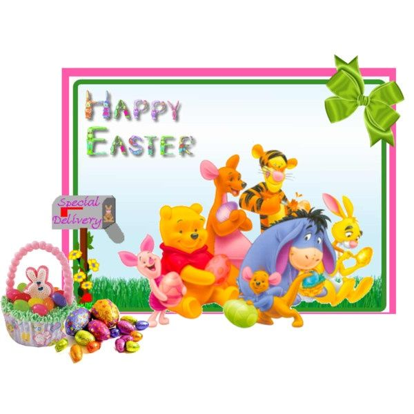 free winnie the pooh easter clip art | disney easter ...