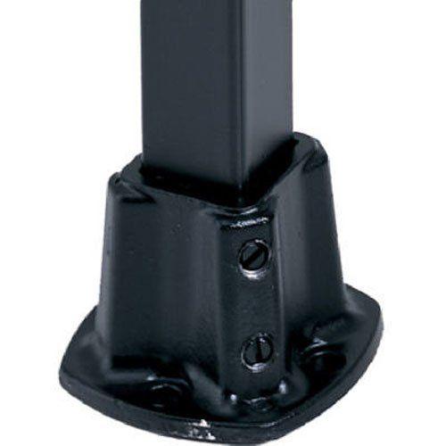Best Gilpin Ironworks 579 1 1 4Blk Floor Postflange Gilpin Iro 400 x 300