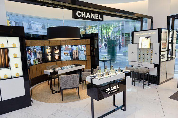 Retail design health beauty shop design chanel - Interior design shopping websites ...