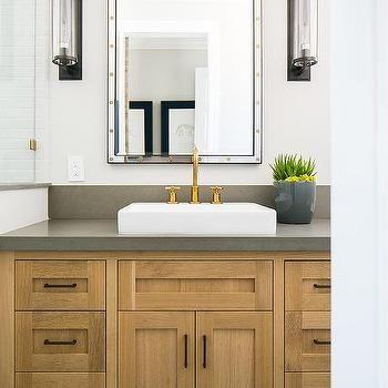 gray chevron floor tiles | grey countertops, grey