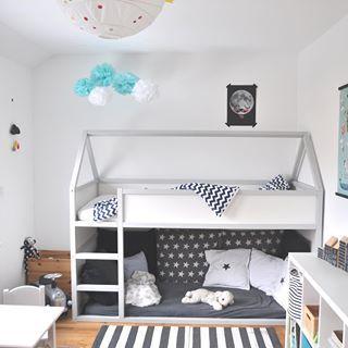 IKEA Hack Hausbett zum 6. Bloggeburtstag #kleinkindzimmer