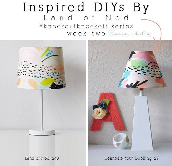 Diy Colorful Rooms: DIY Colorful Painted Lamp Shade