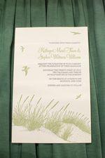 Invitations for a beach wedding