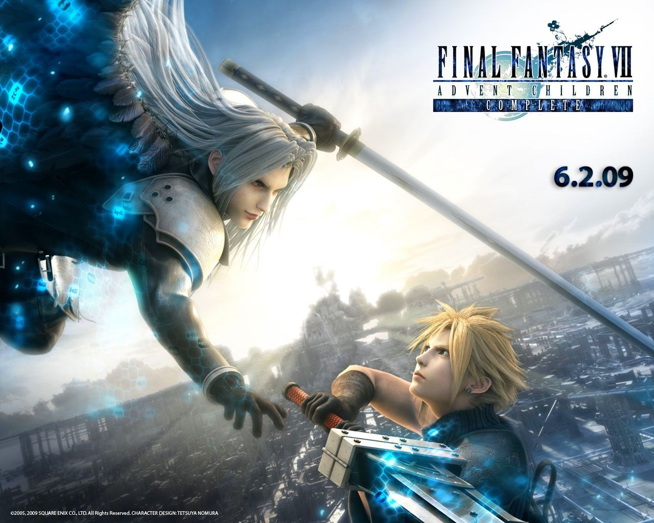 Final Fantasy 7 Advent Children Wallpaper With Images Final