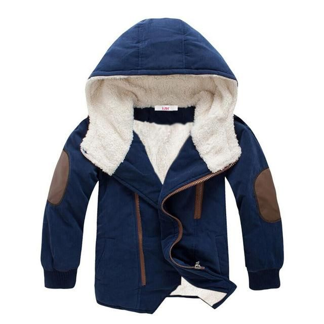 777aeb3e4 Elbow Patch Hooded Coat in 2019