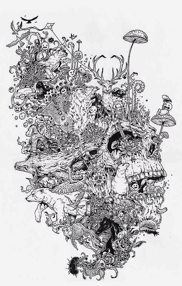 Kerby Rosanes Sketches Contain A Really Impressive Level Of Details As Well Good Dose Humor Dont Miss His Tribute To Myiazaki
