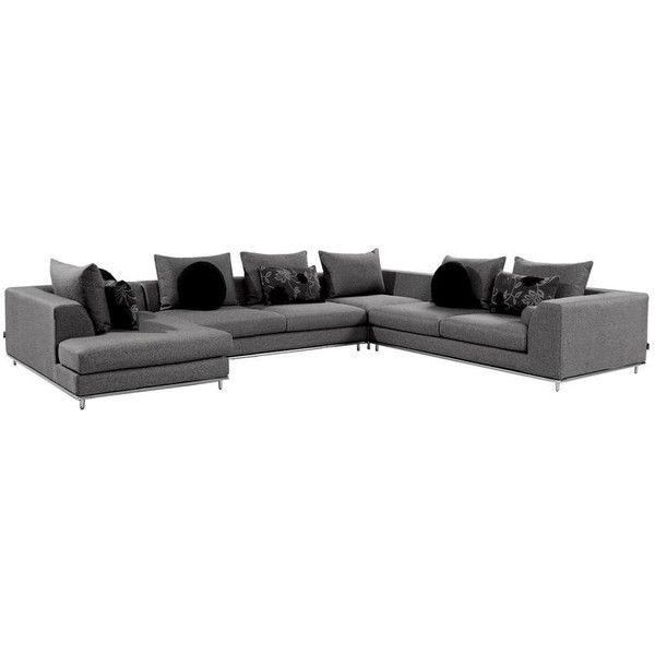 Henna Sofa | El Dorado Furniture (21 920 SEK) ❤ Liked On Polyvore Featuring
