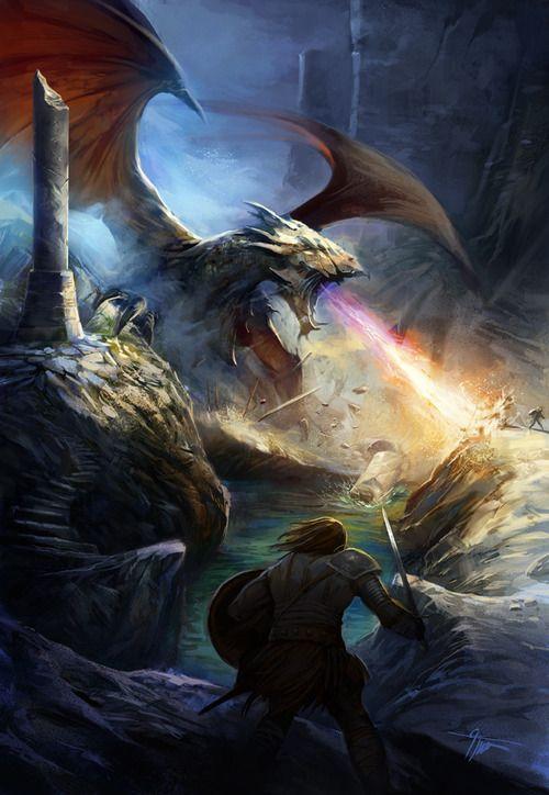 meanwhilebackinthedungeon:  — Grzegorz Krysinski  Fantasy, Dragons