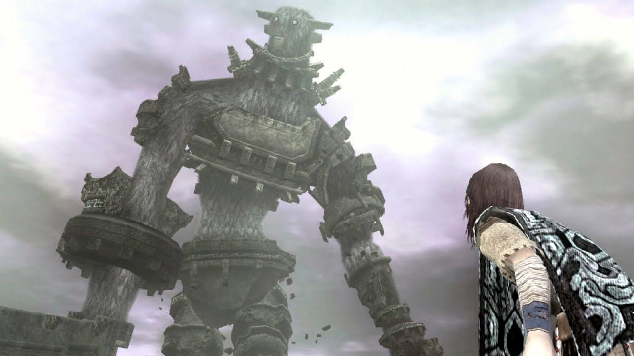 Shadow Of The Colossus Gaius Boss Fight 3rd Colossus Ps3 1080p