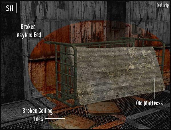 Asylum Elements Sims 2 Modern AU Kirkwall BuildBuy CC