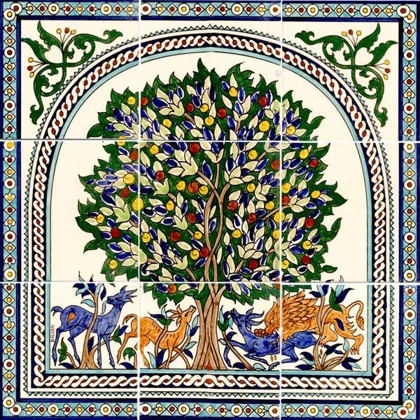 antique hand painted ceramic tiles httpwwwnewhomebuyerorg - Decorative Ceramic Tile