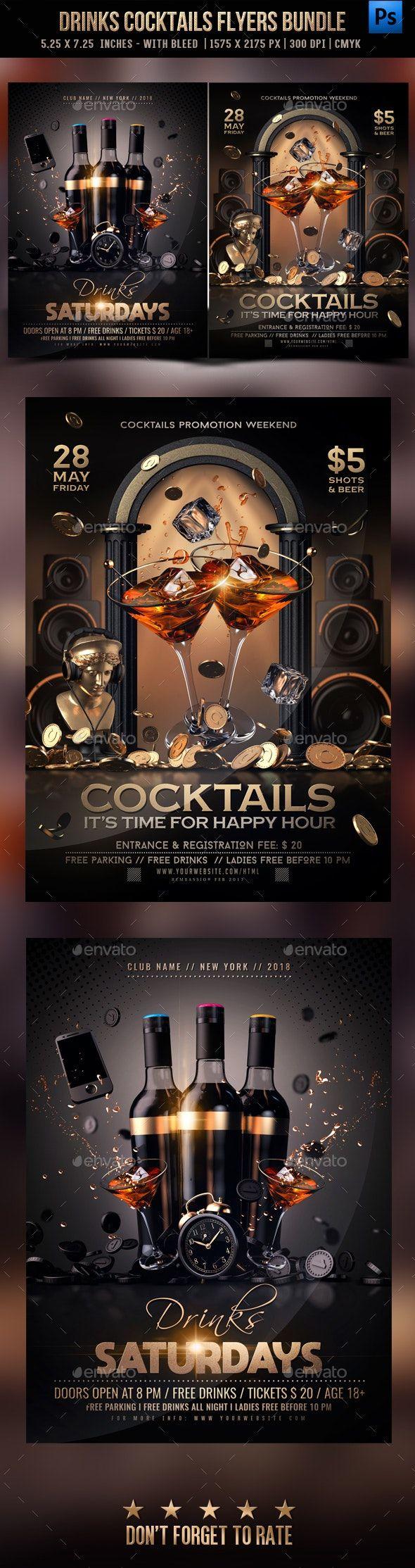 Drinks Cocktails Bundle