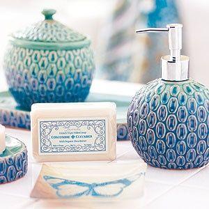 Pea Bath Accessories