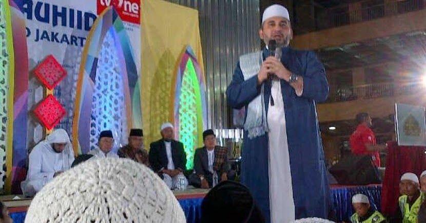 Pas Pimpinan Majelis Rasulullah Habib Nabil Al Musawa