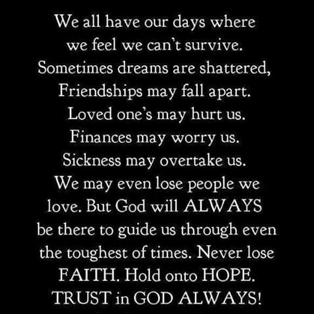 Religious Quotes About Life Beauteous We All Have Our Days Life Quotes Quotes Quote God Religious Quotes