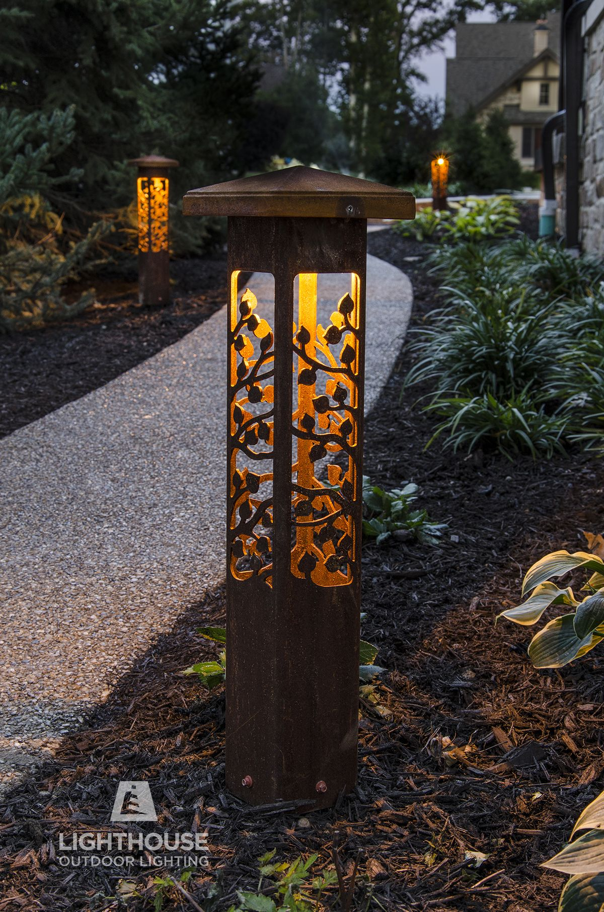 Landscape Lighting Lighthouse Outdoor Lighting Indianapolis In