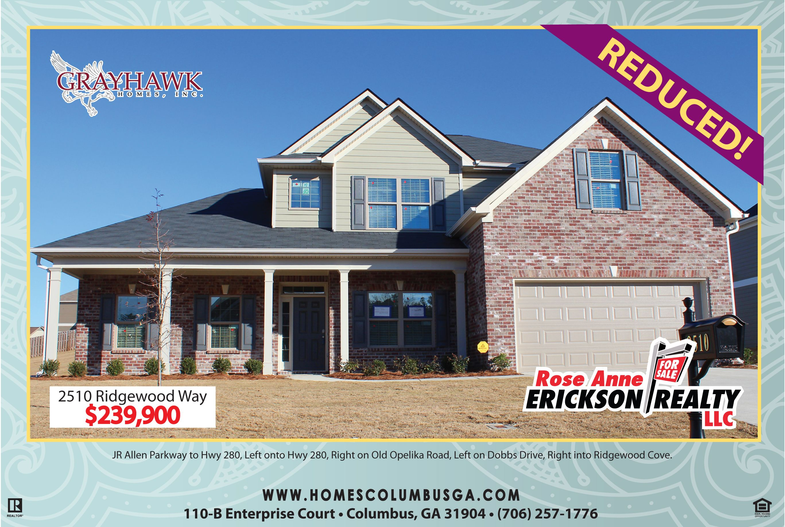 New Construction 2 Story Home Price Reduced For Sale In Phenix