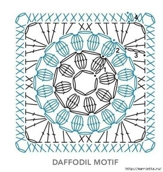 Patrón ideal para cojin | Patrones crochet | Motivos | Pinterest ...