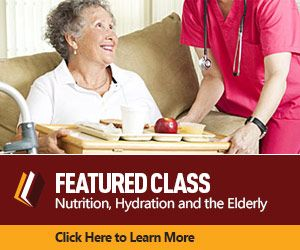 Nutrition Hydration and the Elderly