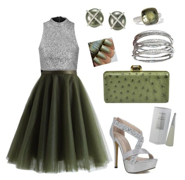 """""""Untitled #15"""" by jessy-packham on Polyvore featuring Chicwish, Topshop, Oscar de la Renta, Pomellato and Issey Miyake"""