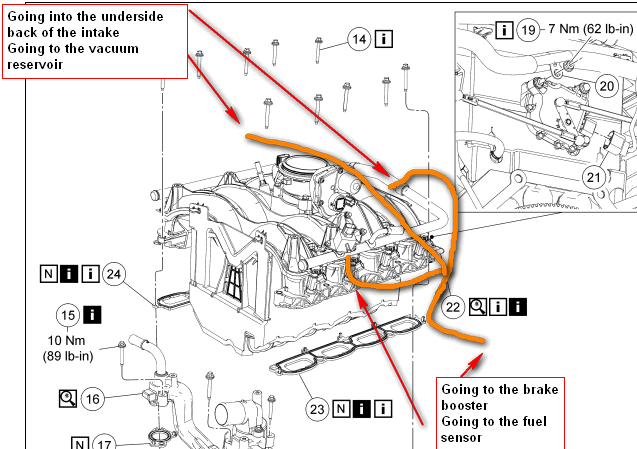 2004 Ford F150 4x4 Vacuum Diagram