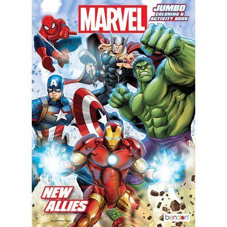Bendon Publishing Avengers 96pg Jumbo Coloring Book Walmart Com Coloring Books Avengers Coloring Marvel Coloring