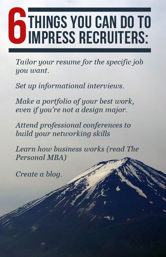 6 Things You Can do to Impress #Recruiters #Recruiters #Prepare