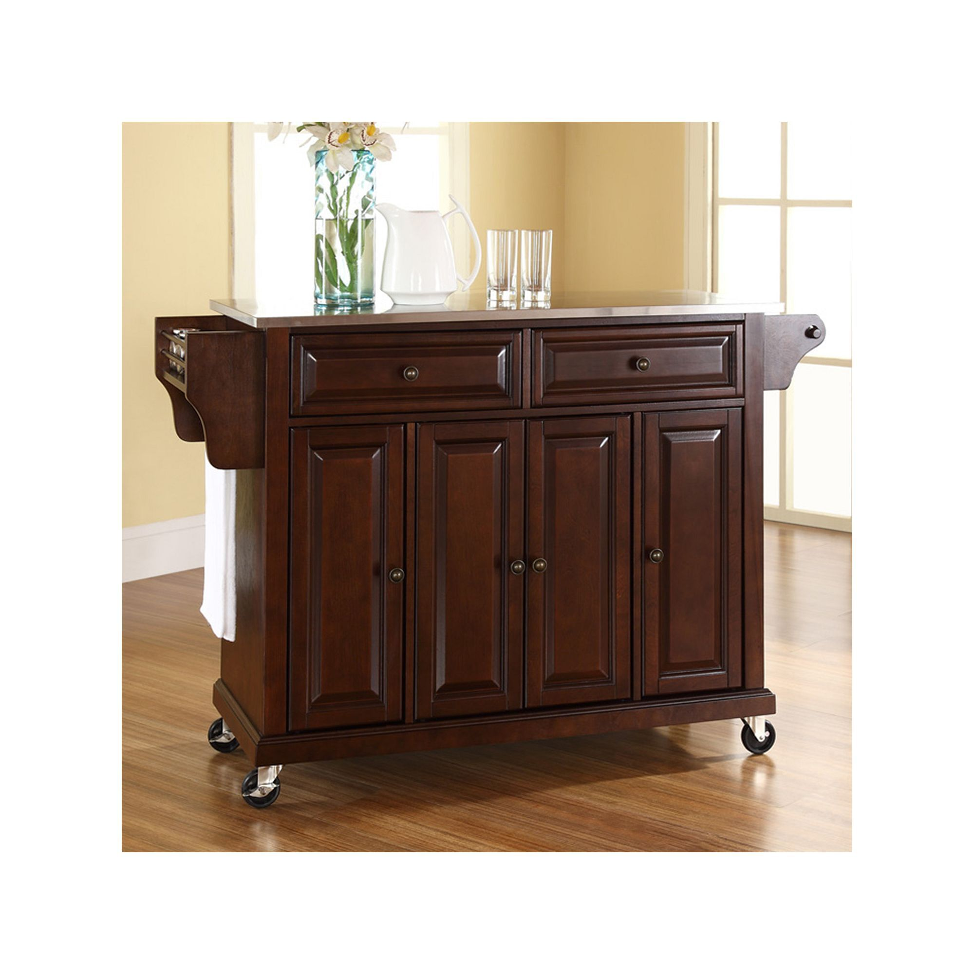 Crosley Furniture Kitchen Cart Other Clrs