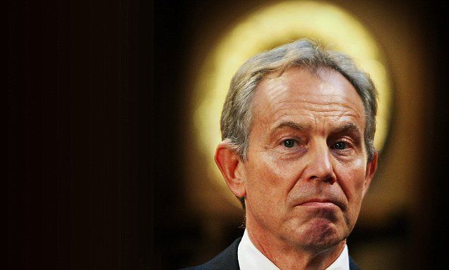 There must be some way to Profit from this ehh Tony ? Tony Blair hint HE could help negotiate Britain's exit from the EU