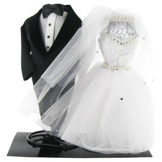 (HAVE THESE) USE FOR MEMORIE TABLE.....Bride & Groom Cake Topper & Centerpiece | Shop Hobby Lobby